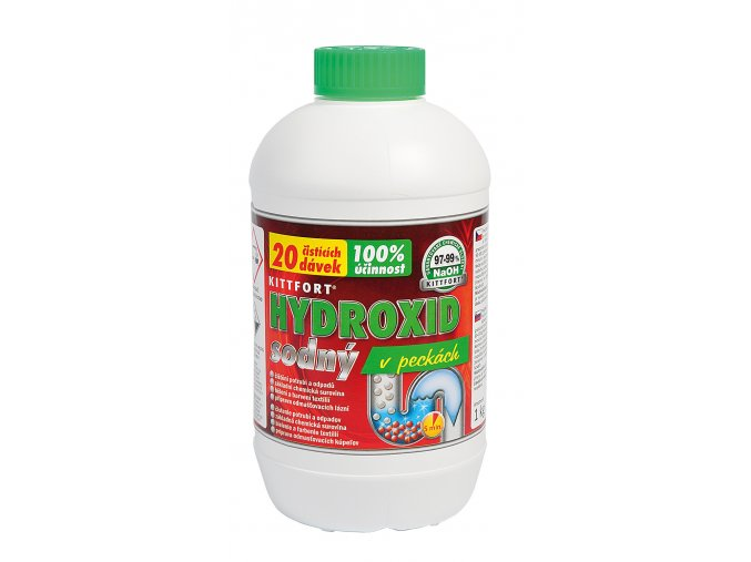 Hydroxid sodny pecky 1kg
