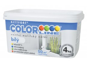ColorLine bily nater 4kg