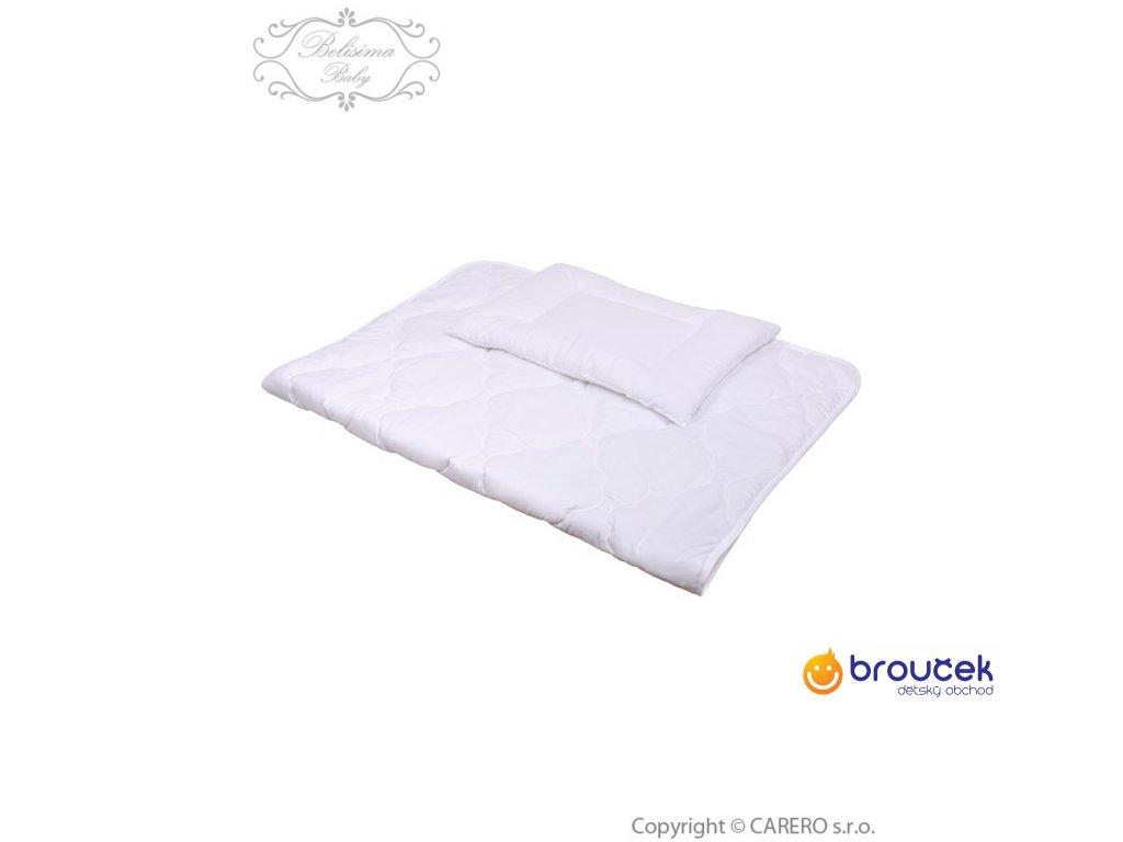 453600222164 Belisima Luxusní výplně polštář a peřinka 100 135 bílá - Dětský ...