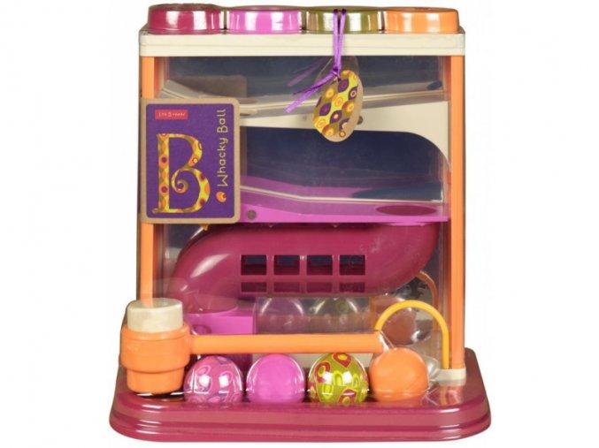 B-Toys Dráha pro míčky Whacky Ball