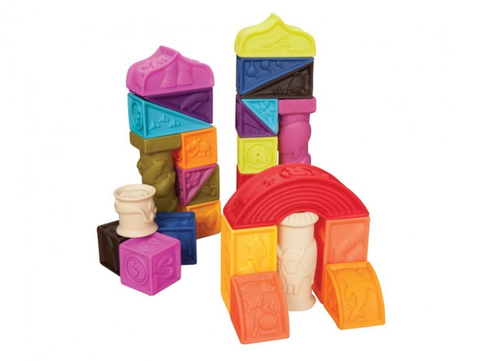 B-Toys Kostky Elemnosqueeze