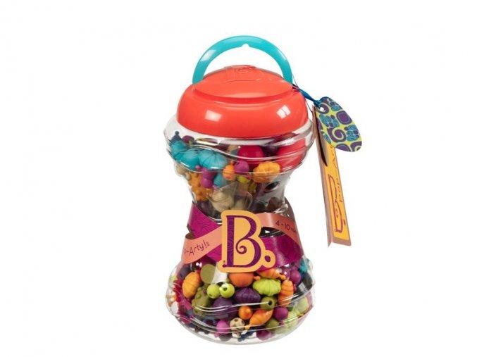 B-Toys Spojovací korále a tvary Pop Arty 300 ks