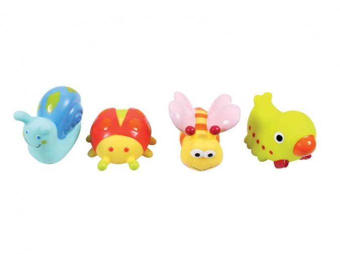 Ludi Hračky do vody zvířátka z louky 4ks
