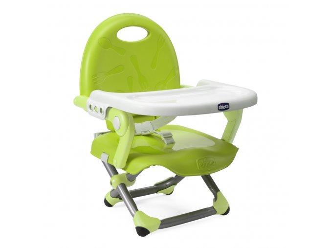Podsedák přenosný na židličku jídelní Pocket Snack - LIME
