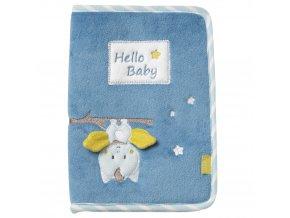 Baby Fehn Little Castle obal na zdravotní kartu