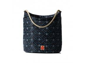 PacaPod - SAMUI černá - kabelka i přebalovací taška