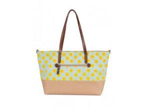 Pink Lining - Notting Hill slunečnice - přebalovací taška