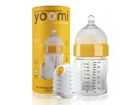 Yoomi 8oz Bottle/Warmer/Teats - Y18B1W