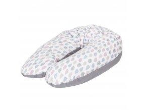 Ceba Baby Kojící polštář Cebuszka PHISIO multi bavlna Mráčky