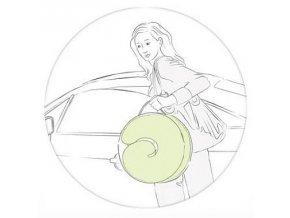 Ceba Baby Kojící polštář Cebuszka PHISIO multi bavlna Bílé puntíky