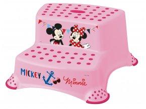 "Dvojstupínek k WC/umyvadlu ""Mickey&Minnie"""
