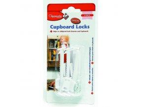 Clippasafe Pojistka skříněk/zásuvek 6ks