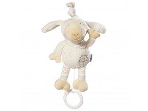 Baby Fehn BABYLOVE Hrací hračka mini ovečka