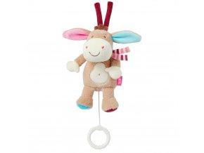 Baby Fehn MONKEY DONKEY Hrací hračka mini oslík