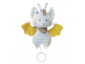 Baby Fehn LITTLE CASTLE Hrací hračka netopýr