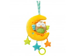 Baby Fehn FOREST Hrací hračka sova+měsíček