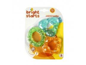 Bright Starts Kousátko plněné vodou - 3 tvary, 3m+