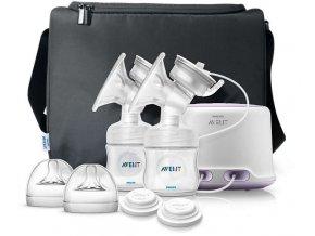 Philips AVENT Odsávačka mateřského mléka Natural elektronická DUO nová
