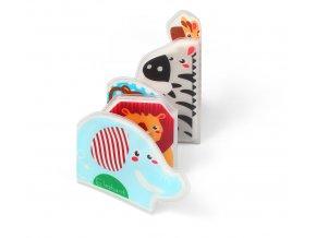 Baby Ono Mini knížka do vody, pískací - Sloník a kamarádi