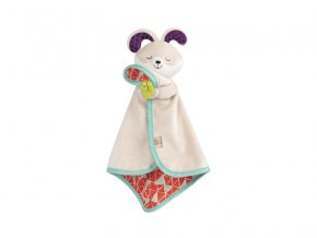 B-Toys Muchláček králíček Fluffy Bunz