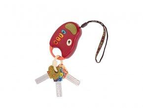 B-Toys Klíčky k autu FunKeys červené