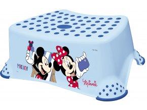 "KEEEPER Stupínek k WC/umyvadlu ""Mickey&Minnie"", Blue"
