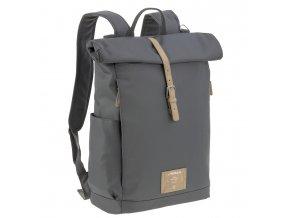 Lässig Green Label Rolltop Backpack anthracite
