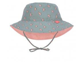Lässig klobouček Sun Bucket Hat seagull green