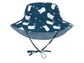 Lässig klobouček Sun Bucket Hat whale