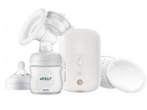 Philips AVENT Odsávačka mateř.ml. Natural elektronická Premium dobíjecí