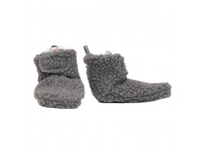 LODGER Slipper Teddy Donkey 6-12m