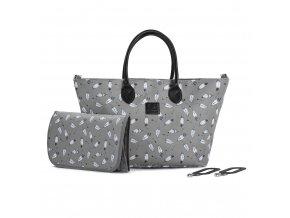 Taška přebalovací Mommy Bag Grey Kinderkraft 2020