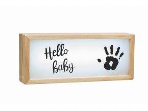 Baby Art Light Box with imprint