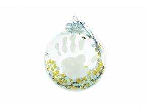 Baby Art Vánoční koule My Christmas Fairy Transparent
