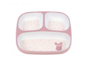 Lässig Plate Section Melamine/Silicone About Friends chinchilla