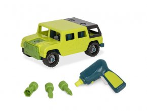 B-Toys Stavebnice auto Off Road 4x4