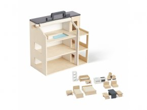 Kids Concept Domeček pro panenky dřevěný Aiden