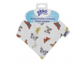 detsky slintacek xkko organic butterflies cb2