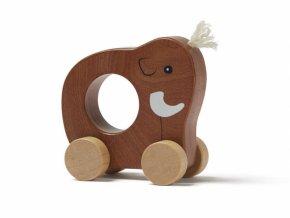 Kids Concept Mamut na kolečkách dřevěný Neo