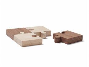 Kids Concept Puzzle dřevěné 4 ks Neo