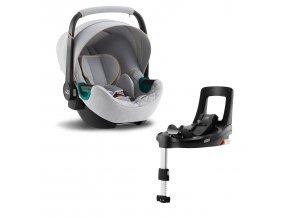 BRITAX Baby-Safe 3 i-Size + Bundle Flex iSense 2021
