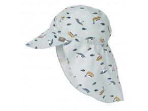 Lässig Sun Flap Hat boat mint 09-12 mo.