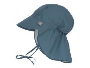 Sun Flap Hat navy