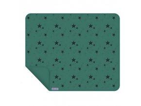 Dooky blanket UNI - deka Green Stars