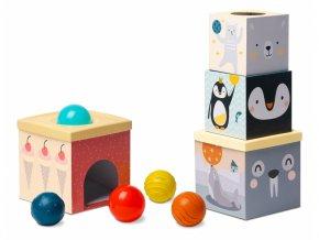 Taf Toys Sada kostek a míčků Severní pól