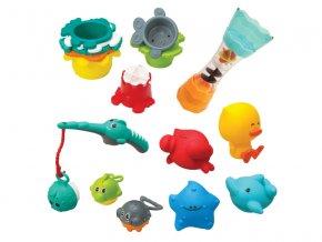 Infantino Sada hraček do koupele Splish and Splash