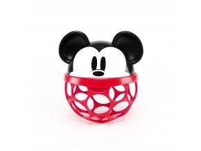 OBALL Hračka Oballo Rattle Disney Baby Mickey Mouse, 0+