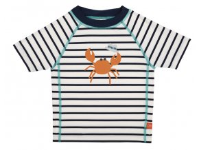 Lässig tričko Rashguard Short Sleeve Boys sailor navy