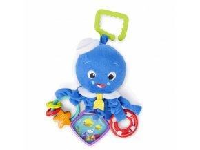 Baby Einstein Hračka na C - kroužku aktivní Octopus 0m+