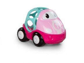 Oball Go Grippers Hračka autíčko závodní Lily růžová 18m+